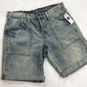 "Gap ""sexy boyfriend"" shorts denim 0 New"